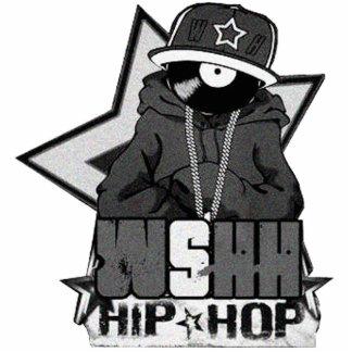 "Chaveiro ""WSHH (Hip Hop)"" Escultura Foto"