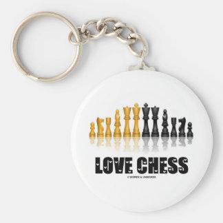 Chaveiro Xadrez do amor