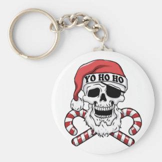 Chaveiro Yo ho ho - papai noel do pirata - Papai Noel