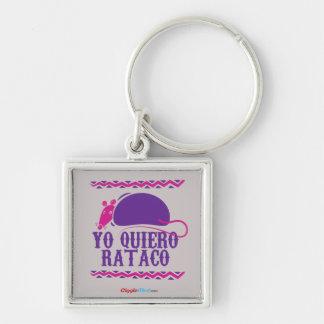 Chaveiro Yo Quiero Rataco
