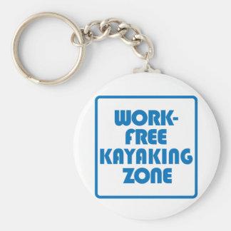 Chaveiro Zona Kayaking livre do trabalho