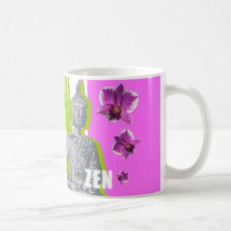 Chávena branca clássica ZEN Caneca De Café