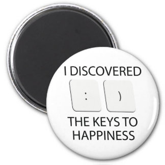 Chaves à felicidade imã