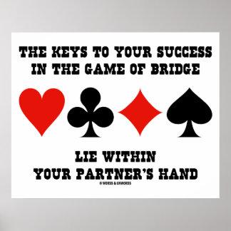 Chaves a seu sucesso no jogo da mentira da ponte poster