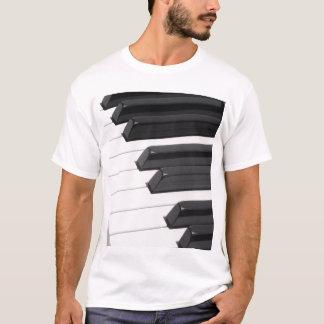 Chaves de teclado do piano ou do órgão camiseta