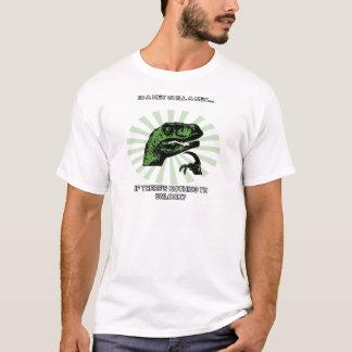 Chaves e fechamentos de Philosoraptor Camisetas