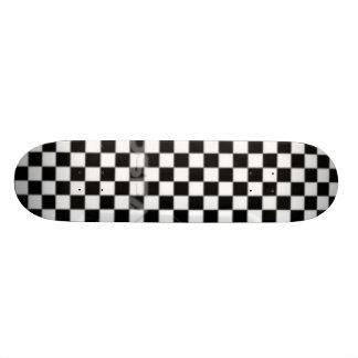 checkered skate