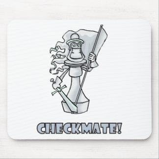 Checkmate! Partes de xadrez (jogo de mesa brainy) Mousepad
