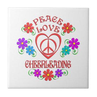 Cheerleading do amor da paz