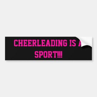 Cheerleading É um esporte!!! Adesivo Para Carro
