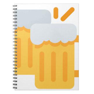 Cheers Emoji Caderno