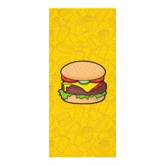 Cheeseburger 10.16 X 22.86cm Panfleto