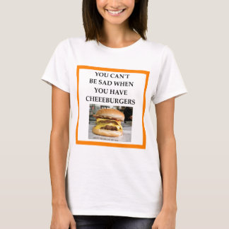 CHEESEBURGER CAMISETA