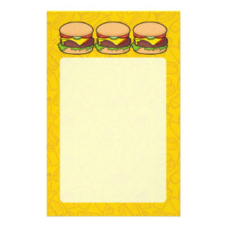 Cheeseburger Flyer 13.97 X 21.59cm