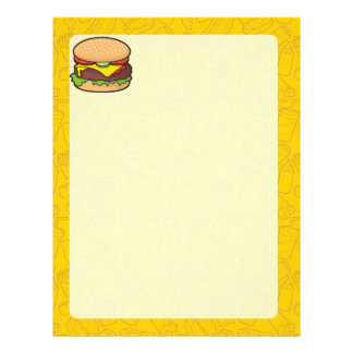 Cheeseburger Flyer 21.59 X 27.94cm
