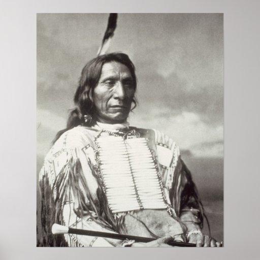 Chefe vermelho da nuvem (1822-1909) 1880 (foto de  pôsteres