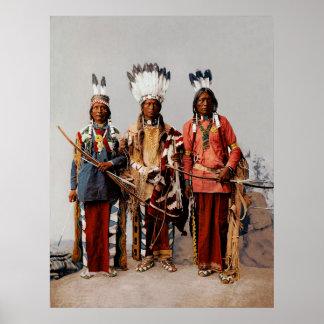 Chefes de Apache Posteres