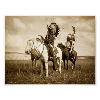 Chefes de Sioux Impressão