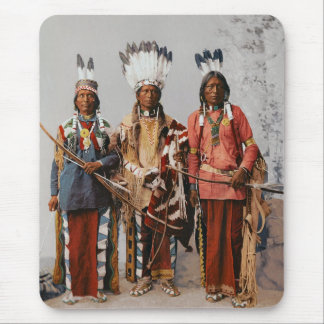 Chefes Garfield Ouche Te Foya 1899 de Apache Mouse Pad