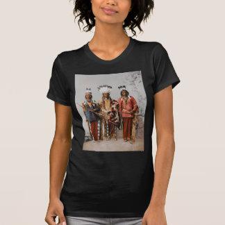 Chefes Garfield Ouche Te Foya 1899 de Apache Camisetas