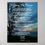 Cheio na mudança mim oração pôsteres
