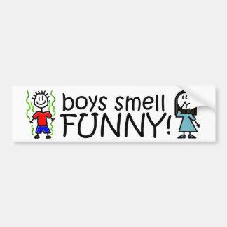 Cheiro do menino engraçado! adesivos