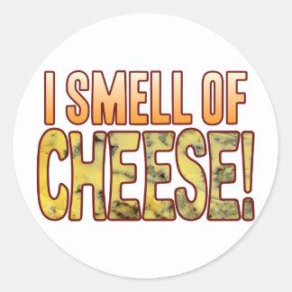 Cheiro do queijo azul adesivo