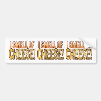 Cheiro do queijo azul adesivo para carro