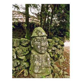 Cheju-Faz - Tolharubang (a imagem de primeira gera Panfletos