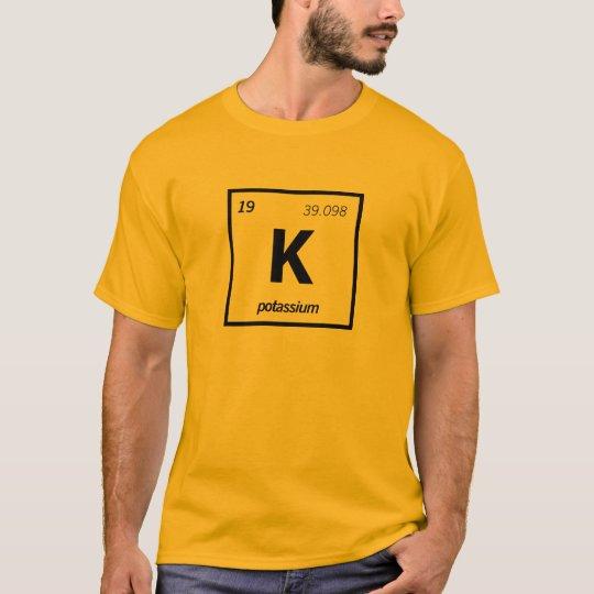Chemical Potassium Camiseta