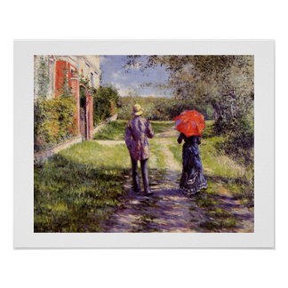 Chemin montant pelo impressão de Gustave