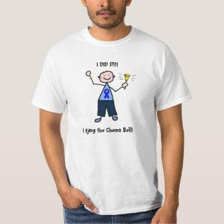 Chemo Bell - homem do cancro do cólon Camiseta
