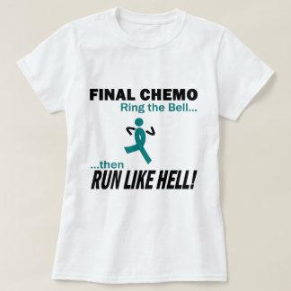 Chemo final funciona muito - câncer de ovário camiseta