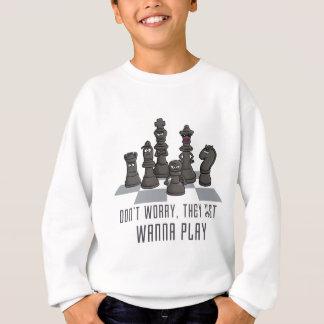 chess gang they justamente wanna play agasalho
