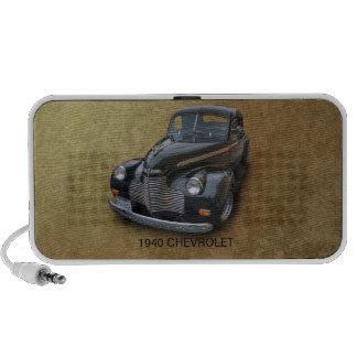 CHEVROLET 1940 2 CAIXINHAS DE SOM PARA MP3
