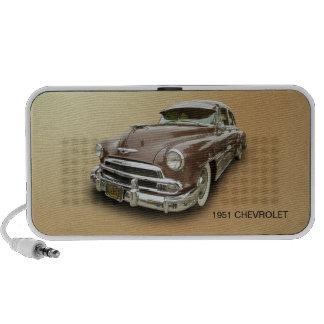 CHEVROLET 1951 CAIXINHAS DE SOM PARA MP3