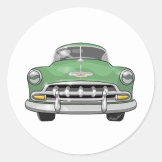 Chevrolet 1952 de luxe adesivo