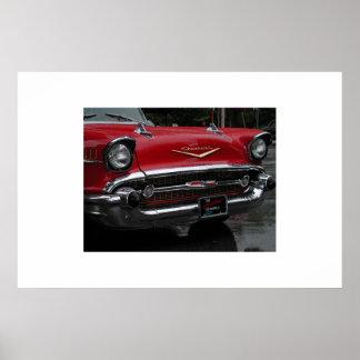 Chevrolet 1957 poster