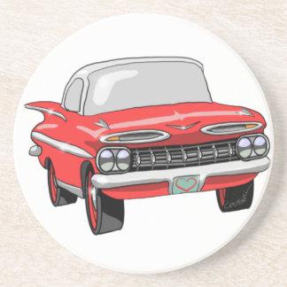 Chevrolet 1959 porta copos de arenito