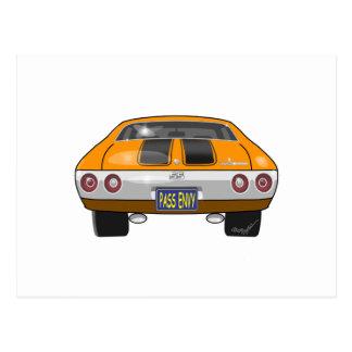 Chevrolet 1972 Chevelle Cartão Postal