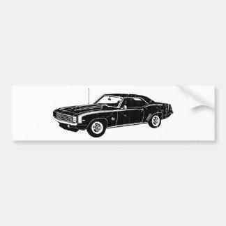 Chevrolet Camaro 1969 SS Adesivo Para Carro