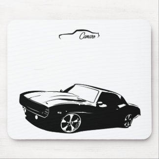 Chevrolet Camaro 1969 SS Mouse Pad