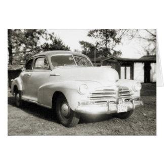 Chevrolet - cartão 1948 das FJ Stylemaster