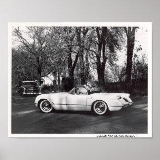 Chevrolet Corvette 1953 Poster