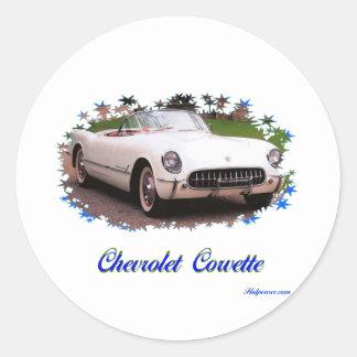 Chevrolet Corvette Adesivo