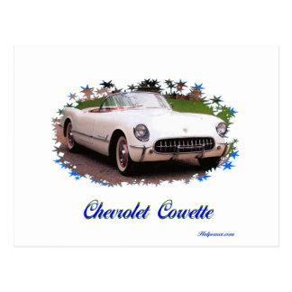 Chevrolet Corvette Cartão Postal