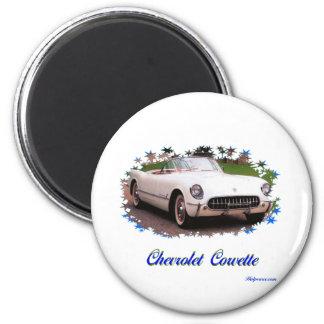 Chevrolet Corvette Ímã Redondo 5.08cm