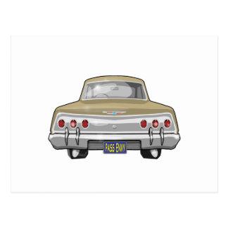Chevrolet Impala 1962 Cartão Postal