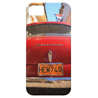Chevrolet vermelho capa barely there para iPhone 5