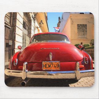 Chevrolet vermelho mouse pad